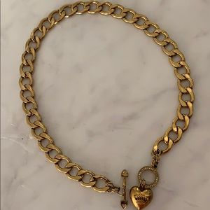 JUICY COUTURE charm starter necklace AUTHENTIC